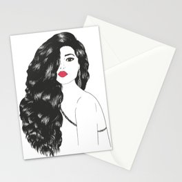 All That Hair Stationery Cards