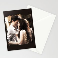 Edward and Bella from Twilight - Painting Style Stationery Cards