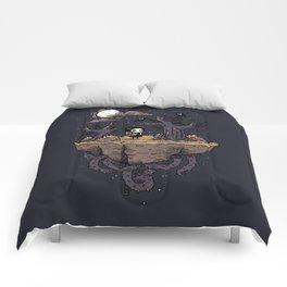 Dark Wood Comforters