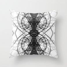Piano Strings Throw Pillow