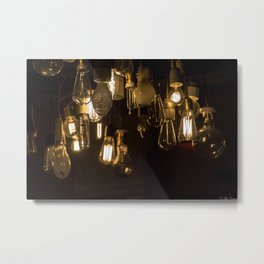 Lights Out Metal Print