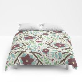 Winter Foliage Comforters