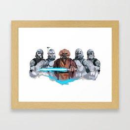 Plos bros Framed Art Print