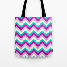 Chevron Jewel Tote Bag