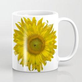 Yellow Sunflower Blossom Coffee Mug