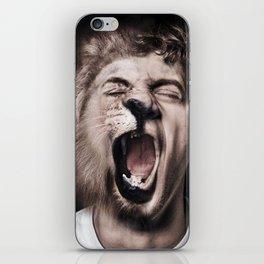 Animorph-Lion iPhone Skin