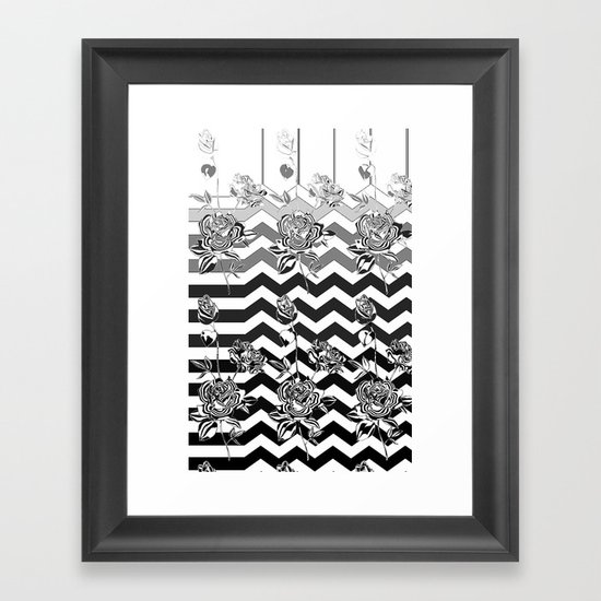 Take a Walk on the Wild Side Framed Art Print