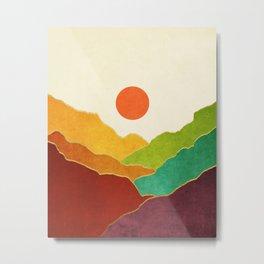 Minimal Landscape 11 Metal Print