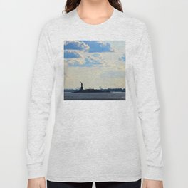 Silhouette Lady Long Sleeve T-shirt