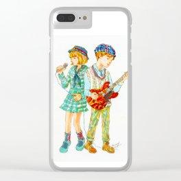 Pop Kids vol.1 Clear iPhone Case