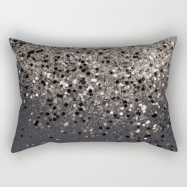 Sepia Glitter #1 #shiny #decor #art #society6 Rectangular Pillow