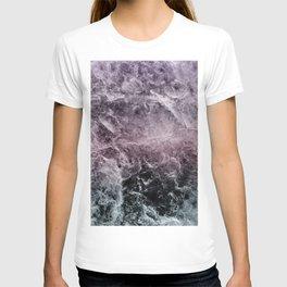 Enigmatic Dark Night Marble #1 #decor #art #society6 T-shirt
