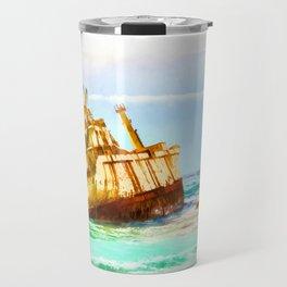 shipwreck aqrestd Travel Mug