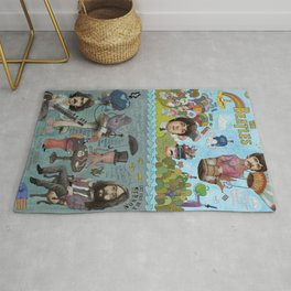 Lonely Hearts, Rubber Soul & Magical Yellow Submarine Tour Rug