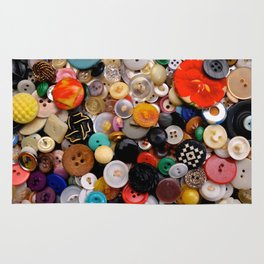 Buttons Galore! Rug