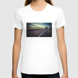 Tracks By the Lake T-shirt