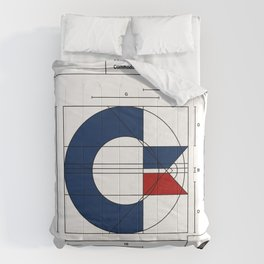 Commodore Logo Design Comforters
