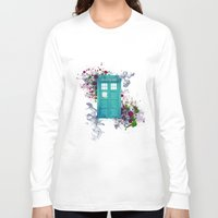 doctor who Long Sleeve T-shirts featuring Doctor Who by Laain Studios