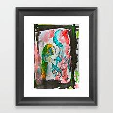 Emo Framed Art Print