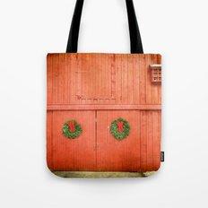 Christmas Barn Tote Bag