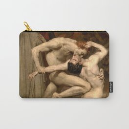 """William-Adolphe Bouguereau """"Dante and Virgile"""" Carry-All Pouch"""