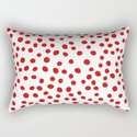 Red doodle dots by seafoam12