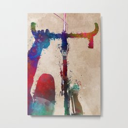 cycling 3 #cycling #sport #bicycle Metal Print