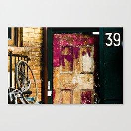 39 Canvas Print