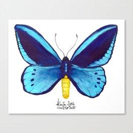Blueberry Breeze Canvas Print