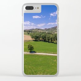Green Fields of Abruzzo Clear iPhone Case
