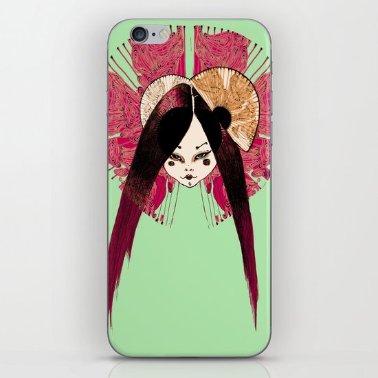 Ma Petite Japonaise v4 iPhone & iPod Skin