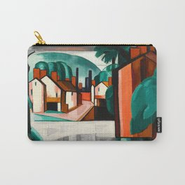 Oscar Bluemner - Old Canal Port, New Jersey Carry-All Pouch