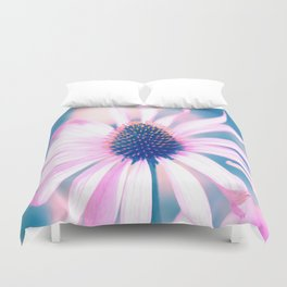 Magic Flower of love and light Duvet Cover