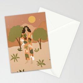 Safari Trees Stationery Cards