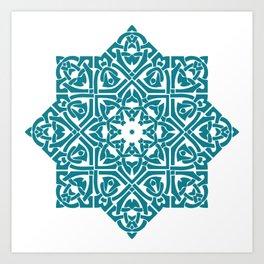 Celtic Knotwork Pattern Art Print