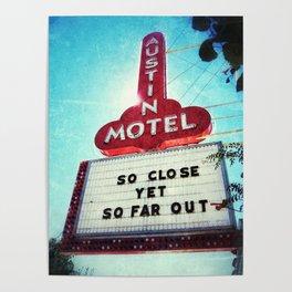 Sign, Austin Motel Poster