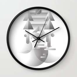 Change 變 | Chinese Typography Design with Fusion of Western & Eastern Aesthetic Wall Clock