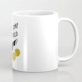 Should I stay or should eggo? Coffee Mug