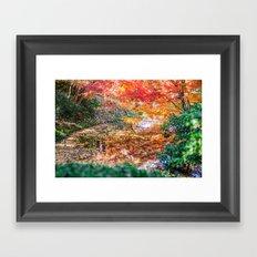 Fall Dreamland Framed Art Print