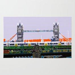 Tower bridge and tube Rug