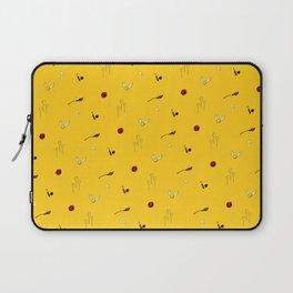 Quidditch Pattern - Hufflepuff Laptop Sleeve