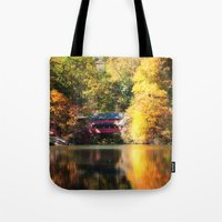 serenity Tote Bags featuring Serenity by Captive Images Photography