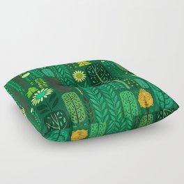 Sacred Forest (Portrait) Floor Pillow