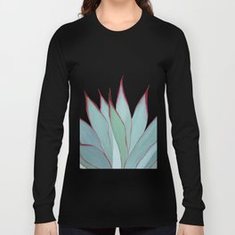 Elegant Agave Fringe Illustration Long Sleeve T-shirt