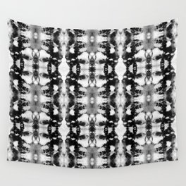 Tie-Dye Blacks & Whites Wall Tapestry