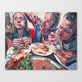 """""""Their God Is Their Bellies"""" Canvas Print"""