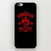 fullmetal iPhone & iPod Skins featuring The Sins of the Father by adho1982
