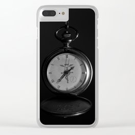 BW - FMA watch Clear iPhone Case