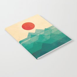 The ocean, the sea, the wave Notebook