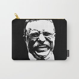 Teddy Roosevelt Smiling Carry-All Pouch